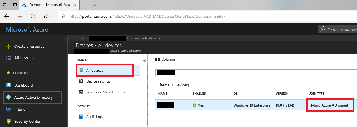 Tuning up Intune – Self Service Password Reset from the