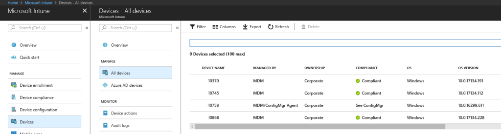intune all devices