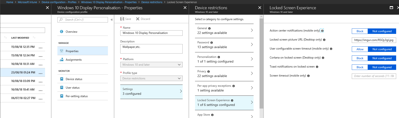 Tuning up Intune – Self Service Password Reset from the login screen